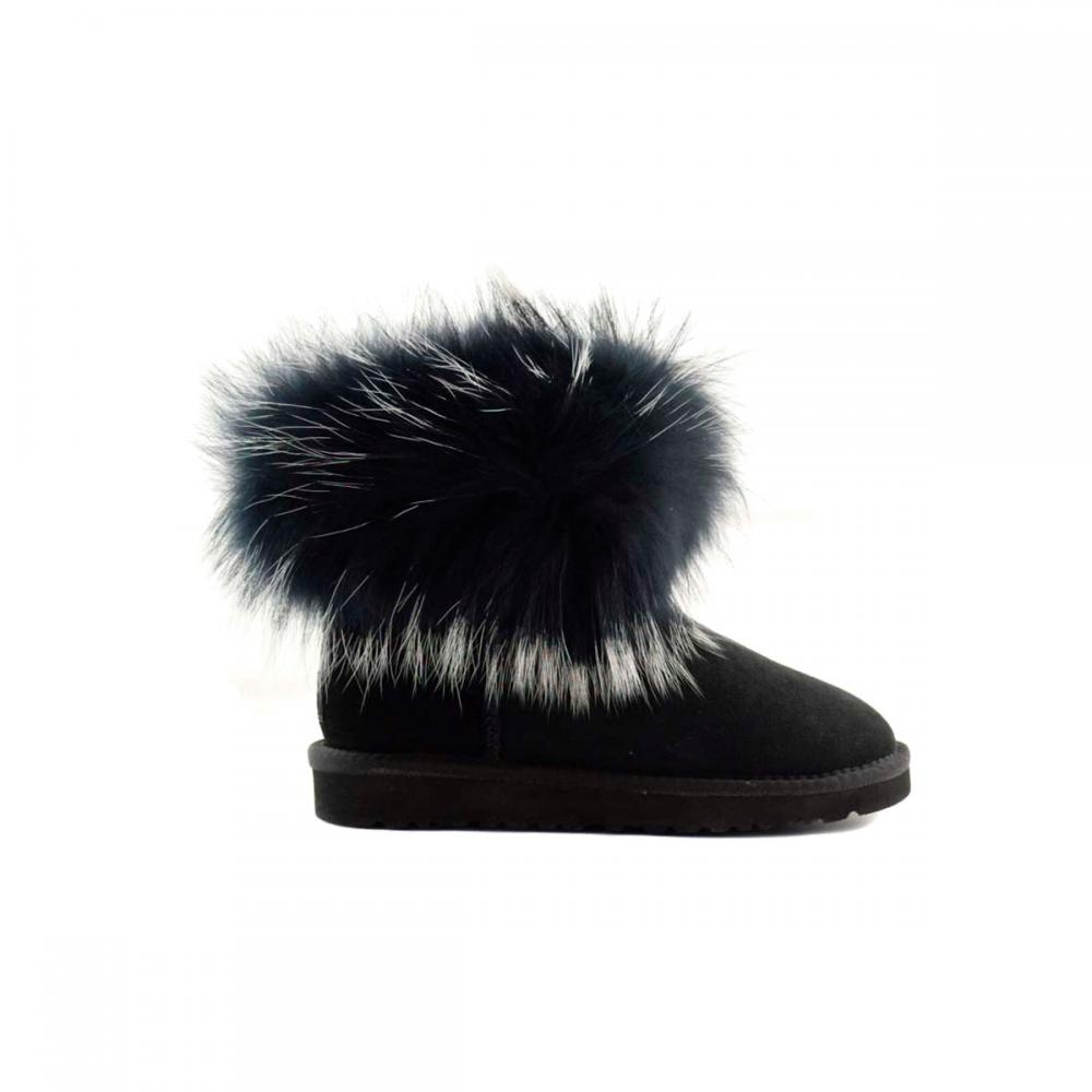 Mini Fox Fur Ultra Полусапоги - image 1 of 5