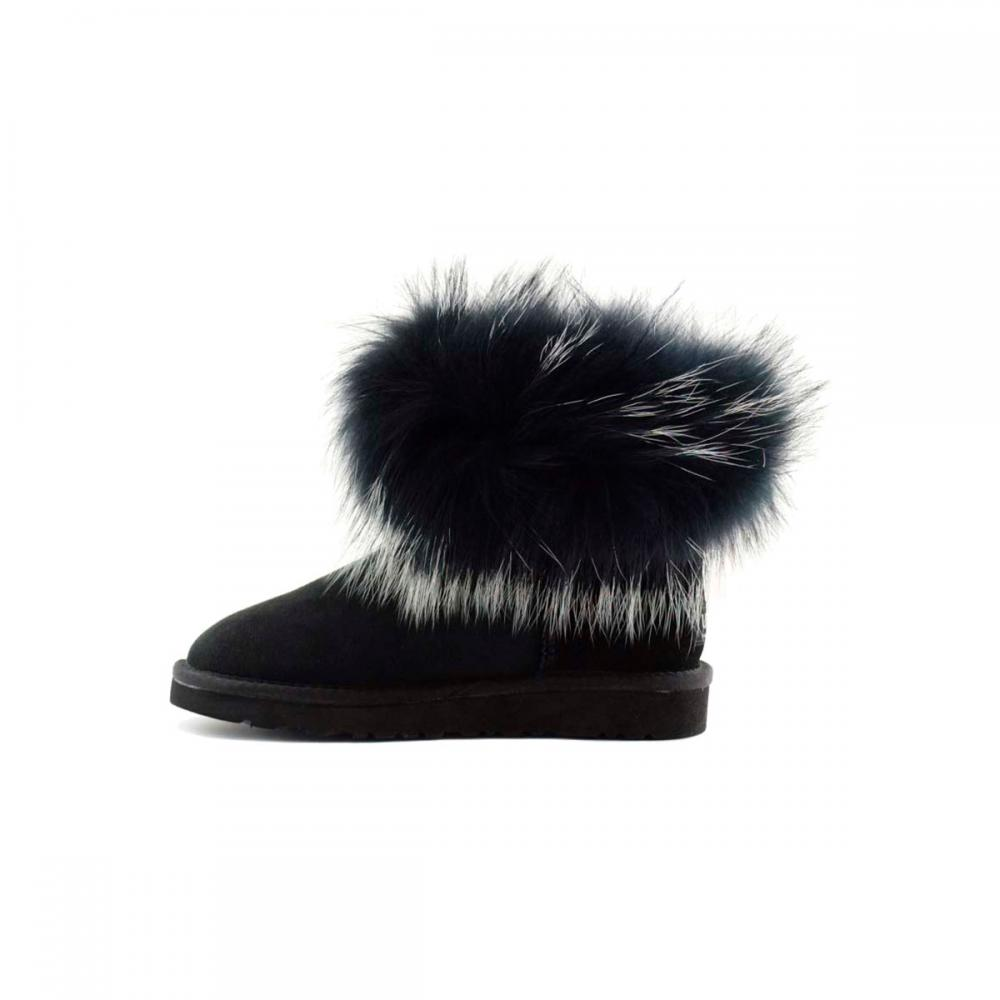 Mini Fox Fur Ultra Полусапоги - image 3 of 5